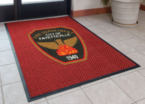 Custom Promotion Advertising Print/Printed Logo Floor Carpet Entrance Welcome Foot Door Mats pictures & photos