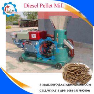 Diesel Enginee Flat Die Animal Feed Mill pictures & photos