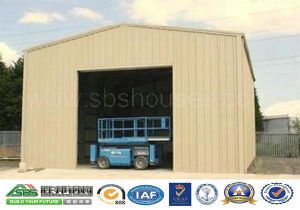 Square Pillar Design Sectional Door Warehouse Buildings for Sale pictures & photos