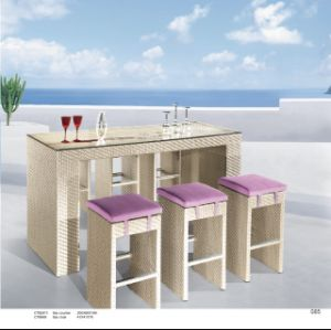 Outdoor Rattan Bar Chair pictures & photos