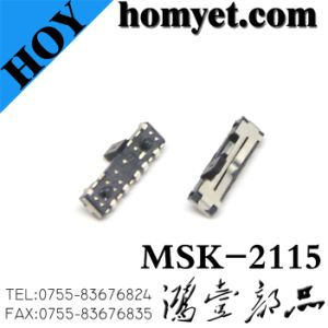 Mini SMD Slide Switch with Two Mast (msk-2115) pictures & photos