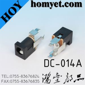3pin Straight DIP DC Power Jack (DC-014A) pictures & photos