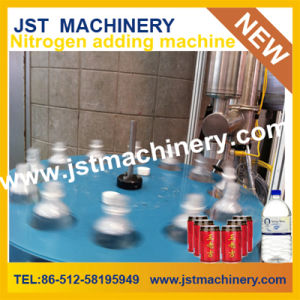 Liquid Nitrogen Filling Injector Machine for Can pictures & photos
