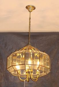 Copper Pendant Lamp with Glass Decorative 19003 Pendant Lighting pictures & photos