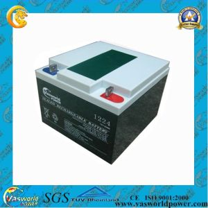 12V 24ah Lead Acid Battery for Solar System pictures & photos