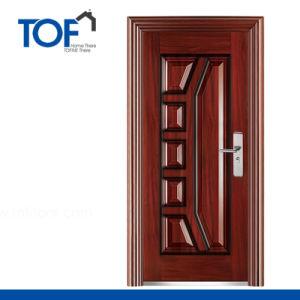 2015 Decorated Exterior High Quality Steel Security Door
