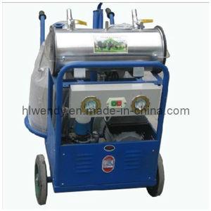 Mobile Vacuum Pump Milking Machine pictures & photos