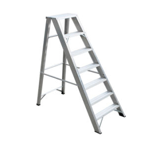 (375LBS) Aluminum Alloy Single Side 7-Step Ladder pictures & photos