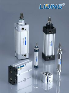 Liding Pneumatic Cylinder and Micro Valve