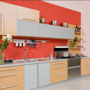 PVC Faced Kitchen Cabinets