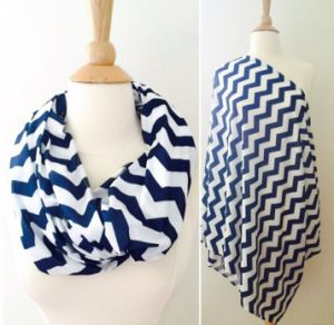Hot Selling Soft Cotton Infinity Scarf Nursing Scarf pictures & photos