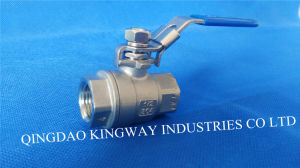 Stainless Steel 2-PC Ball Valve (BT-2F)