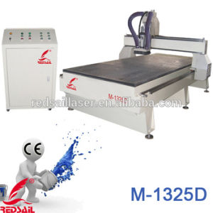 Woodworking CNC Router Center With Servo Motor, 6KW Spindle (M-1325D)