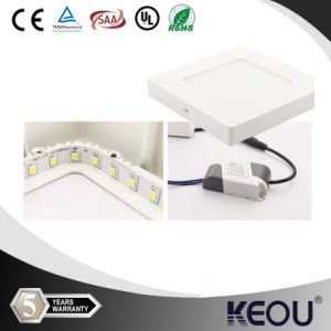 6inch 12W 2835SMD Round Surface Mounted LED Panel Light pictures & photos