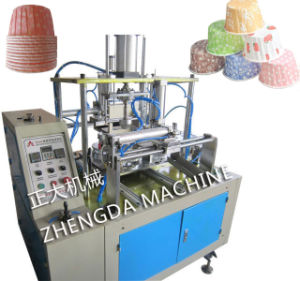 Full-Automatic Crimped Cake Cup Machine