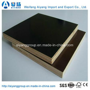 Construction Grade 18mm Brown/Black/Red Film Faced Plywood pictures & photos
