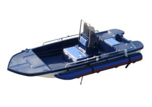 Aqualand 13feet 4m Bass Boat/River Boat/Fiberglass Fishing Boat (130) pictures & photos