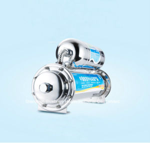 Double Stage 304 Stainless Steel Chlorine-Free Undersink Water Purifier with Carbon and UF Combined pictures & photos
