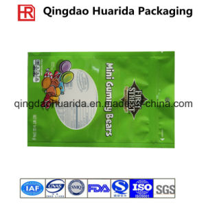 Shinny Finished Plastic Packaging Bags for Candy with Zipper pictures & photos