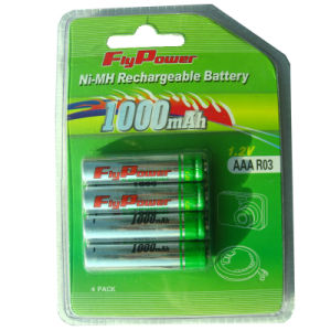 Ni-MH 1.2V AAA1000mAh Rechargeable Battery (FH-AAA1000C)