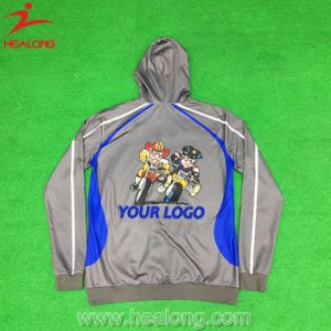 Healong 100% Cotton Customized Hoodies for Men pictures & photos