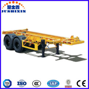 2 Axle/3 Axle 40′ Skeleton Container/Utility Truck Semi Trailer pictures & photos