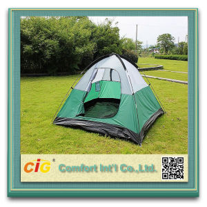 3-4 People Family Wholesale Pagoda Tent pictures & photos