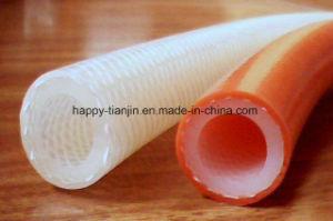 Transparent Nylon Braid Silicone Hose Tube pictures & photos