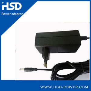 24W 12V Switching Power Adapter/Wall AC DC Adapter with CE Kc GS PSE Certification
