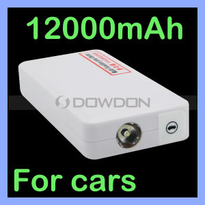 12000mAh Portable Car Vehicle Battery Charger Power Bank Booster Emergency Jump Starter pictures & photos