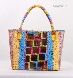 Fashion Lady PU Handbag (JYB-23012) pictures & photos