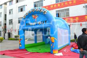 Hot Sale Inflatable Soap Football Game in 2014 (CHSL239) pictures & photos
