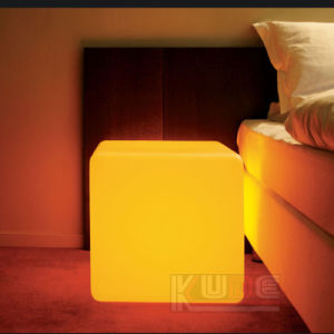 LED Illuminated Glow Cube -Rotomoulding Coffee Table Seat Catering pictures & photos