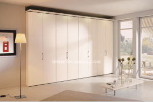 PVC Finished Wardrobe with ISO and E1 Standard