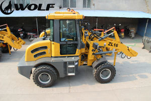 Sweden Hot Sale Wheel Loader Zl 16 pictures & photos