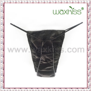 Whole Sale High Quality PP Nonwoven Disposable Tanga for Women