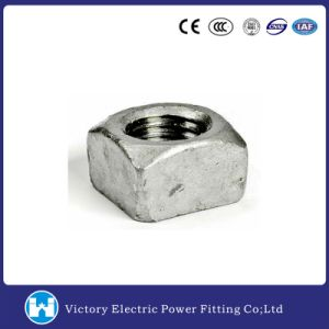 Galvanized Square Nut for Machine Bolt pictures & photos