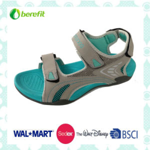 TPR and EVA Sole, PU Upper, Childen′s Sandals pictures & photos