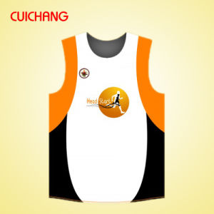 Plus Size Gym Wear Sublimated Dry Fit Running Singlet pictures & photos