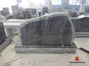 Bahama Blue Granite Mountain Headstone & Monument pictures & photos