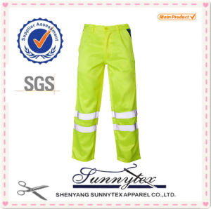 Cheap Custom Hi-Vis Oxford Reflective Work Cargo Pants pictures & photos