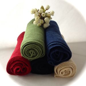 Hemp/Organic Cotton Dyed Scarf (HRS-5545) pictures & photos