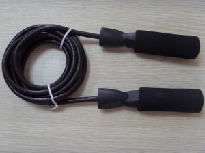 Heavy Duty Leather Jump Rope pictures & photos