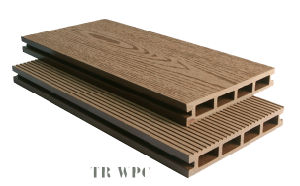 WPC Decking Factory in High Quality and Low Price pictures & photos