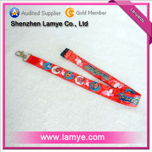 Eco-Friendly and Non-Toxic Cheap Polyester Lanyard / Neck Lanyard / ID Card Holder Lanyard