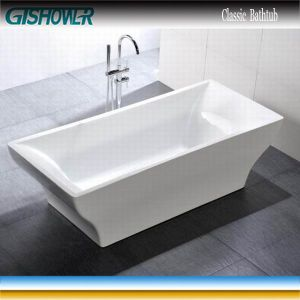 Large Rectangle Common Bathtub (KF-739) pictures & photos