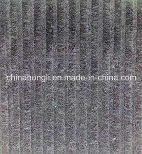 T/Sp CD Yarn Rib Knitting Fabric with Double-Color Effect pictures & photos
