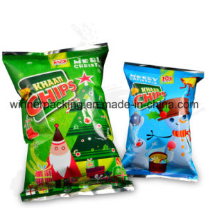 Aluminum Foil Food Package Bag with Lap Seal Packing