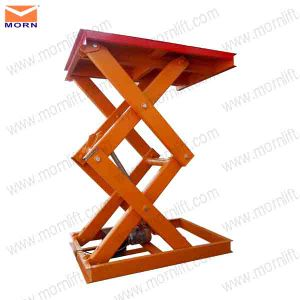 Scissor Lift Table 2 Ton pictures & photos