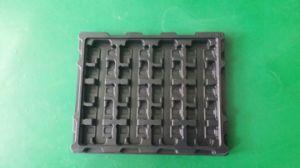 Custom Anti-Static Black and Plastic Tray